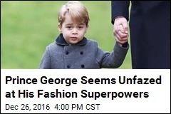 Coat Prince George Wore on Christmas Already Sold Out