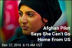 Afghan Air Force's 1st Female Pilot Seeks Asylum in US
