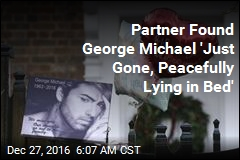 Partner Says He Found George Michael Dead in Bed