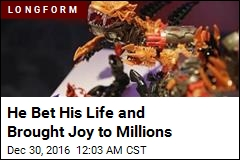 He Bet His Life and Brought Joy to Millions
