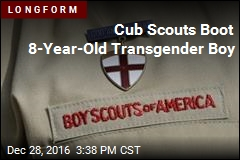 Cub Scouts Boot 8-Year-Old Transgender Boy