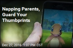 Kid Swipes Napping Mom's Thumbprint, Goes Shopping