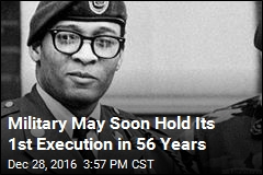 Military May Soon Hold Its 1st Execution in 56 Years