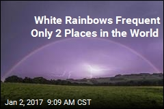 White Rainbows Frequent Only 2 Places in the World