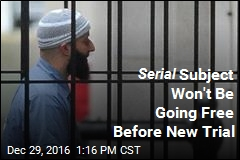 Serial Subject Won't Be Going Free Before New Trial