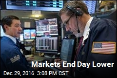 Markets End Day Lower