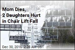 Mom Dies, 2 Daughters Hurt in Chair Lift Fall
