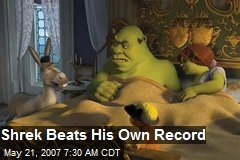 Shrek Beats His Own Record