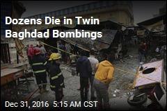 Dozens Die in Twin Baghdad Bombings