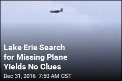 Lake Erie Search for Missing Plane Yields No Clues