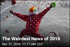 The Weirdest News of 2016