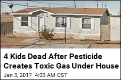 4 Kids Dead After Pesticide Creates Toxic Gas Under House