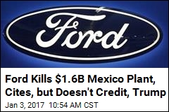 Ford Reverses, Will Pump Cash Into Michigan, Not Mexico