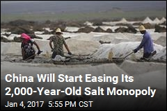 China Will Start Easing Its 2,000-Year-Old Salt Monopoly
