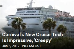 Carnival Hopes Cruisers Will Trade Privacy for Convenience