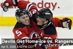 Devils Get Home-Ice vs. Rangers