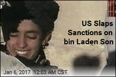 US Slaps Sanctions on bin Laden Son
