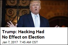 Trump Blames Hacking on DNC's 'Gross Negligence'
