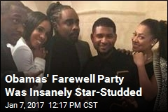Obamas' Farewell Party Has All the Celebrities