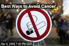 Best Ways to Avoid Cancer