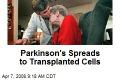 Parkinson's Spreads to Transplanted Cells