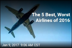 The 5 Best, Worst Airlines of 2016