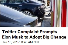 Twitter Complaint Prompts Elon Musk to Adopt Big Change