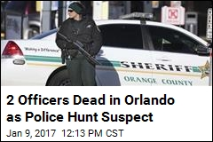 2 Officers Dead in Orlando as Police Hunt Suspect