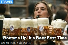 Bottoms Up! It's Beer Fest Time