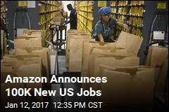 Amazon Announces 100K New US Jobs