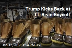 Trump Kicks Back at LL Bean Boycott