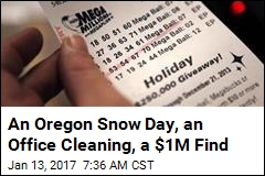 Oregon Man Has Snow to Thank for Being $1M Richer