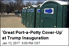 Port-a-Potty Name May Hit Too Close to Home for Trump