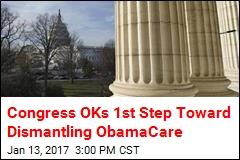 Congress OKs 1st Step Toward Dismantling ObamaCare