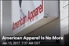 American Apparel Is No More
