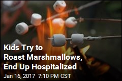 Kids Try to Roast Marshmallows, End Up Hospitalized
