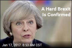 A Hard Brexit Is Confirmed