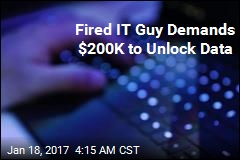 Fired IT Guy Demands $200K to Unlock Data