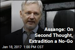 Assange: On Second Thought, Extradition a No-Go