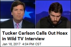 Tucker Carlson Calls Out Hoax in Wild TV Interview