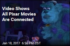 Video Reveals the 'Insane' Connected World of Pixar