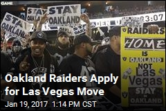 Oakland Raiders Apply for Las Vegas Move