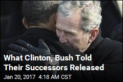 Clinton, Bush Letters to Successors Released