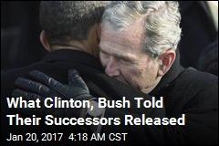 Clinton, Bush Letters to Successors Released