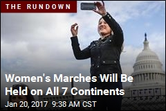Women's Marches Will Be Held on All 7 Continents
