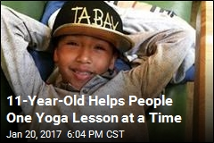 Tabay Atkins May Be America's Youngest Yoga Instructor