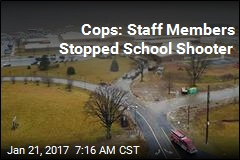 Cops: Staff Members Stopped School Shooter
