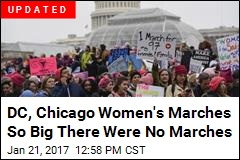 Chicago Women's March Canceled...for Being Too Big