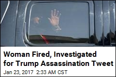 Woman Fired, Investigated for Trump Assassination Tweet