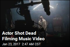 Actor Shot Dead Filming Music Video